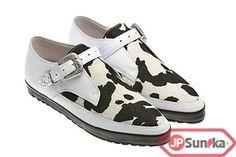 adidas JS Pony SLM Leather  WHITE/METALLIC SILVER/BLACK  (V24618)