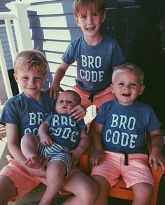 Bro Code Brother Tshirts Brother Tee Shirt by CitizenBeachApparel