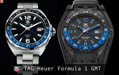 d450bd8818f TAG Heuer Formula 1 GMT- Standard vs. Guetta Tag Heuer Formula