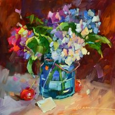 Homegrown Goodness, painting by artist Dreama Tolle Perry