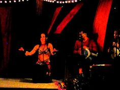Sabrina Fox Belly Dances Improv with Live Drumming at  Tribal Rendezvous 2010