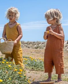The most stunning kids French linen jumpsuits giving us all the feels. Seen here is our Scout jumpsuit in Mustard and Ochre. The most stunning kids French linen jumpsuits giving us all the feels. Seen here is our Scout jumpsuit in Mustard and Ochre. Kids Fashion Show, Toddler Boy Fashion, Cute Kids Fashion, Toddler Outfits, Boy Outfits, Girl Fashion, Boy Toddler, Fashion Fall, Fashion Clothes