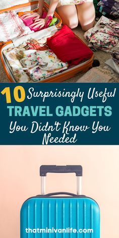 This list of 10 useful travel gadgets has everything you'll want to add to your list of travel essentials. Before you finish your packing list, you might want to read this! #traveltips #travelhacks #travelessentials Winter Travel Outfit, Travel Outfits, Summer Travel, Travel With Kids, Family Travel, Packing Tips For Vacation, Travel Packing, Travel Tips, Travel Destinations