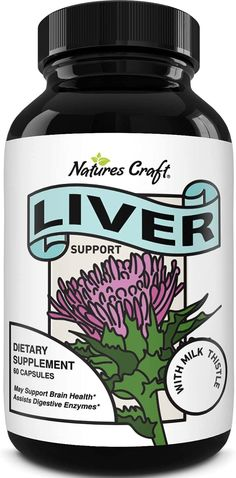 Liver Supplements with Milk Thistle