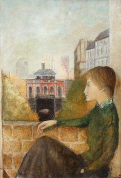 Josef Šíma   Josef Šíma & Štorch-Marien Rene Magritte, Joseph, Artsy, Painting, Image, Surrealism, Painting Art, Paintings, Painted Canvas