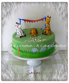 Safari Cake  Cake by A Cake Creation