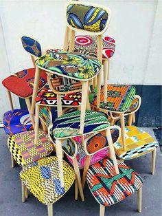 La chaise etnique ! O top !