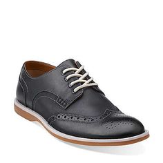 Farli Limit in Navy Nubuck - Mens Shoes from Clarks