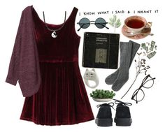 """""""I just want you here with me"""" by style-collage ❤ liked on Polyvore featuring Underground, River Island, Crate and Barrel, Linea, Illesteva and Monki"""