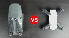 DJI Spark vs DJI Mavic Pro - What's the Best Compact Drone