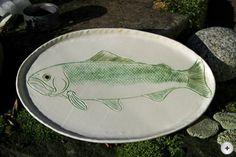 hauptsache keramik: Fischteller