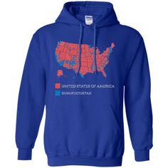 Dumbfuckistan TShirt City Vote Map United States Of America - Tee shirt us map dumbfuckistan