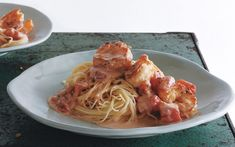 Capellini With Shrimp and Creamy Tomato Sauce   7 Quick Dinners To Make This Week