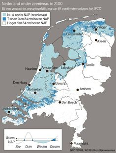 Holland Map, Netherlands Map, Countries Europe, All Nature, Map Design, Sea Level, Historical Maps, Low Country, Earth Science