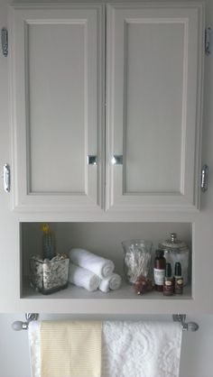 New Cupboard Above toilet