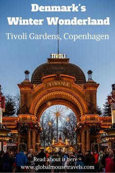 Tivoli Gardens in Copenhagen are absolutely magical in winter. Read our review here (and wait until you see the carousel with life-size giraffes to ride on!!)