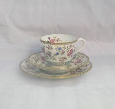 Vintage Fine bone china Spode Audley Trio by TheMewsCottage, £16.00