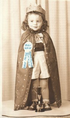 Prom Queen with a great link to old children photos