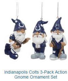 GNOMES FOR ON THE TREE IN COLT UNIFORM. It is going to be a blue   white  Christmas. 9adca642e