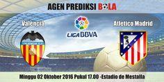 Prediksi Bola Valencia vs Atletico Madrid 2 Oktober 2016