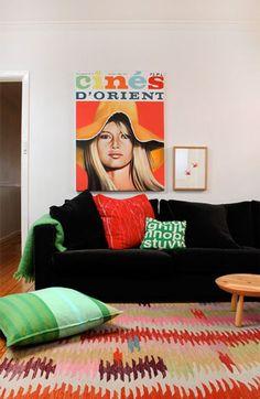 Decoração com Sofá Preto - Dicas para deixar sua casa linda!