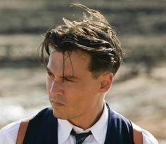Johnny Depp Haircut in Public Enemies for Men Johnny Depp Images, Johnny Depp Fans, Here's Johnny, Johnny Depp Movies, Johnny Depp Public Enemies, Layered Haircuts For Medium Hair, Haircuts For Men, Medium Hair Styles, Man Haircut Medium