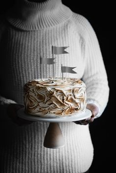 COCONUT GRAPEFRUIT MERINGUE CAKE fulfilled