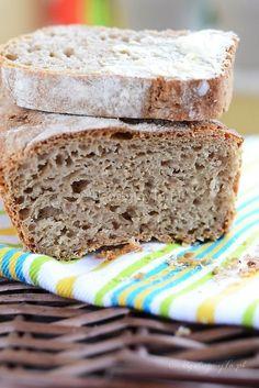 Przepis na szybki chleb Rye Bread, Polish Recipes, Polish Food, Banana Bread, Food To Make, Cake Recipes, Bakery, Clean Eating, Dinner Recipes