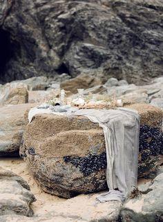 Best at Dusk - Organic Coastal Wedding Ideas