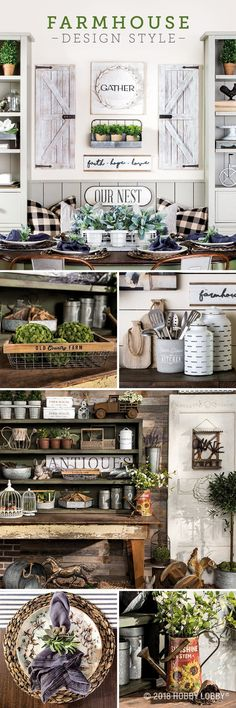 Give your space all the farmhouse feels with weathered and rustic-looking pieces from our Spring Shop™ farmhouse collection!