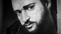 For Justin Timberlake(String art)  https://youtu.be/pIXEpn_ntME Для выполнения этой работы понадобилось 24 км нити, 13,000 гвоздей и 200 часов работы.  https://youtu.be/pIXEpn_ntME