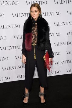 Valentino Sala Bianca 945 Event - Arrivals - Celebrity Fashion Trends