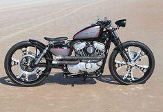 Bobber-2007 Harley Davidson Sportster Custom Boardtracker
