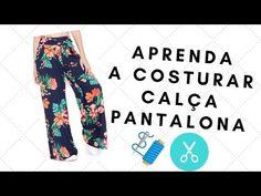 Como Fazer Short, Yellow Homecoming Dresses, Love Sewing, Jean Shorts, Free Pattern, Pajama Pants, Blazer, Couture, Diy