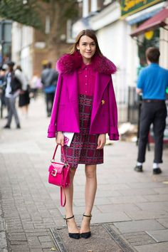 Outfit inspiration from the chicest on the streets of London.