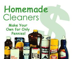 Homemade cleaners, including antibacterial cleaner using tea tree oil