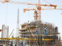 Crane Construction, Utility Pole, Dragon, Dragons