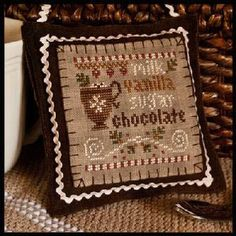 2012 Ornament 7 Hot Cocoa - Cross Stitch Pattern