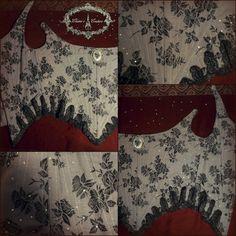 Four o'clock corset, custom made. For information and orders: elainecouture.info@gmail.com