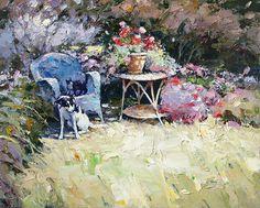 artist Zaitsev Alexi, Corner of the garden