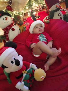 Sebastian first Christmas