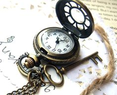 I am not sure where my love of pocket watches and keys came from? I love anything and everything Victorian.