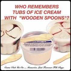 Ice Cream cups.  Loved them all but getting strawberry was rare!