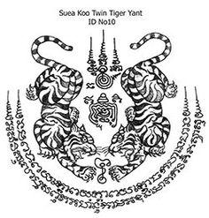 Pictures of Thai Tattoo designs Ink Tattoo, Thai Tattoo, Tiger Tattoo, Body Art Tattoos, Maori Tattoos, Tatuagem Sak Yant, Sak Yant Tattoo, Hawaiian Tribal Tattoos, Samoan Tribal Tattoos