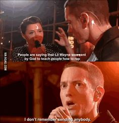 This is why Eminem is a legend...