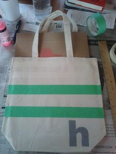 Decorating the Dorchester Way: Bridesmaid Canvas Tote Bag!
