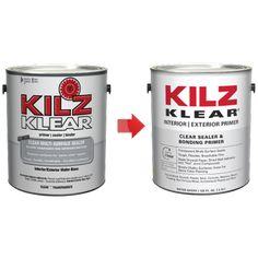 Kilz Original Interior Oil Based Primer Sealer Stain Blocker Low