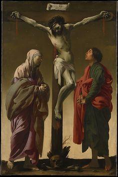 The Crucifixion with the Virgin and Saint John Hendrick ter Brugghen (Dutch, The Hague? 1588–1629 Utrecht) Date: ca. 1624–25 Medium: Oil on canvas Dimensions: 61 x 40 1/4 in. (154.9 x 102.2 cm)