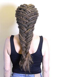 Dreadlocks on your own hair Braided Dreadlocks, Dreads, Hair Stylists, Dreadlock Hairstyles, Case Study, Stockholm, Reiki, Bridal Hair, Hair Ideas