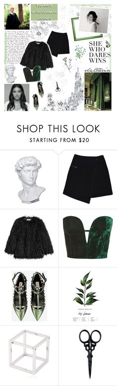 """""""all the skeletons she's kept"""" by forebodinq ❤ liked on Polyvore featuring Disney, Dollhouse, Eichholtz, MARC CAIN, Topshop, Valentino, Caterina Zangrando, The BrowGal and MAminigameO1"""